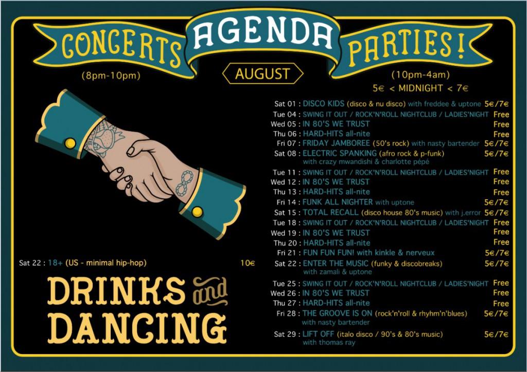 agenda august