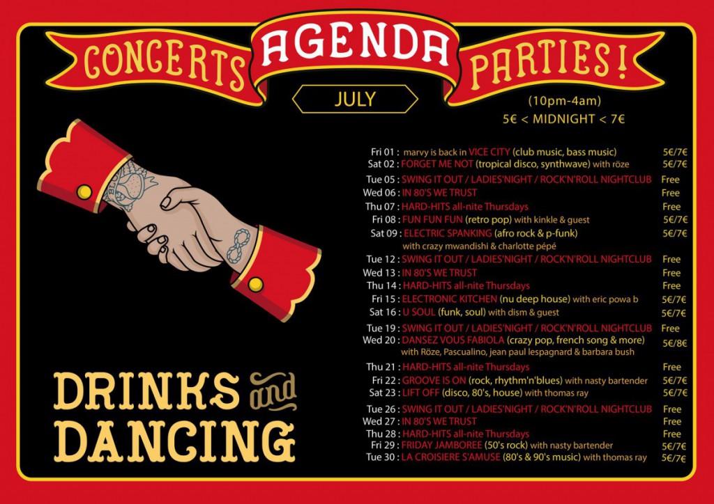 agenda july 2016