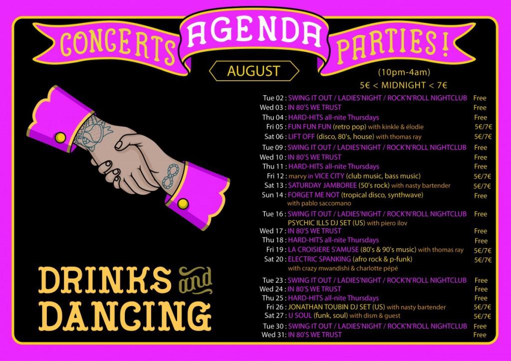 agenda august 2016