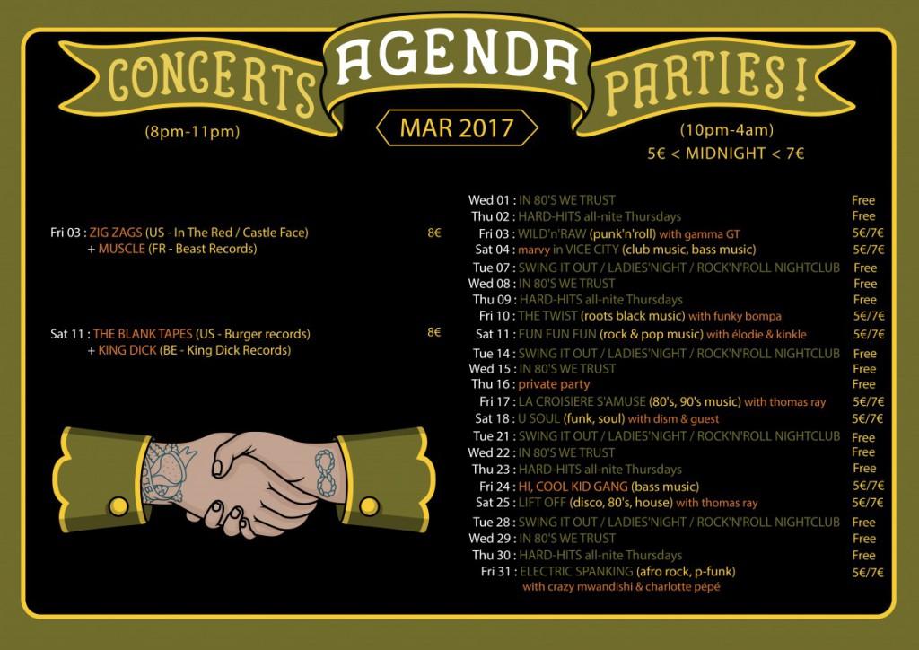Agenda March 2017