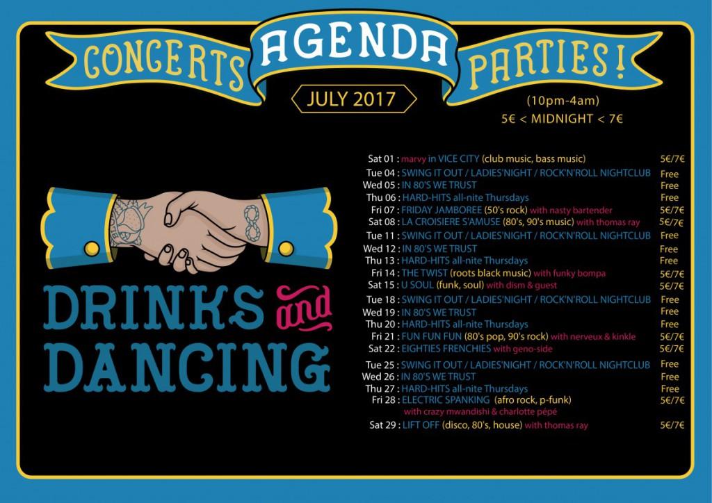 Agenda July 2017