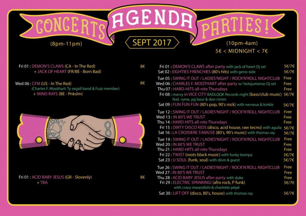Agenda September 2017