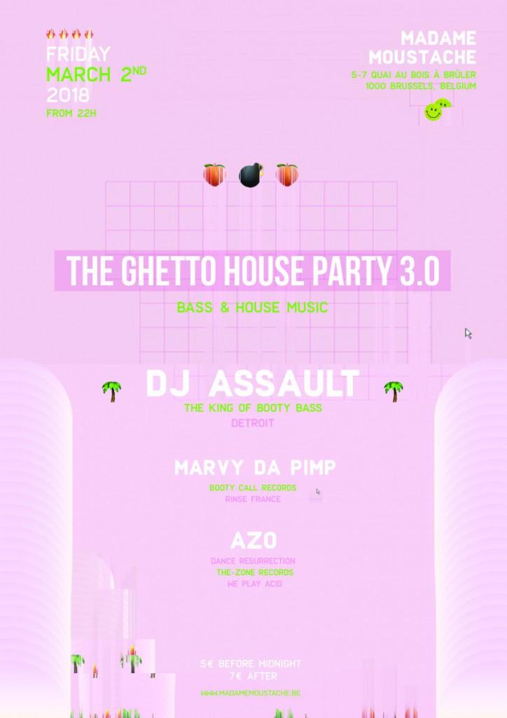 Lyric booty call lyrics : The Ghetto House party 3.0 with Dj Assault - Madame Moustache
